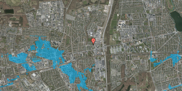 Oversvømmelsesrisiko fra vandløb på Dalvangsvej 26, 2. tv, 2600 Glostrup