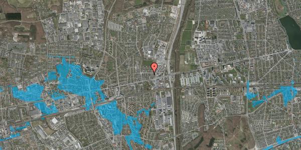 Oversvømmelsesrisiko fra vandløb på Dalvangsvej 27, st. th, 2600 Glostrup