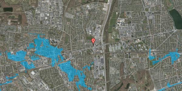Oversvømmelsesrisiko fra vandløb på Dalvangsvej 29, 2. th, 2600 Glostrup
