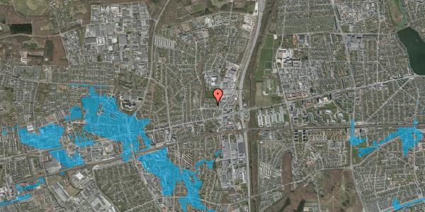 Oversvømmelsesrisiko fra vandløb på Dalvangsvej 30, 2. th, 2600 Glostrup
