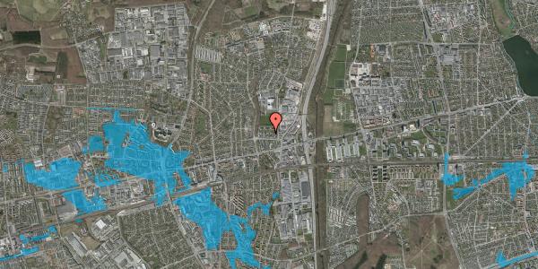 Oversvømmelsesrisiko fra vandløb på Dalvangsvej 32, st. th, 2600 Glostrup