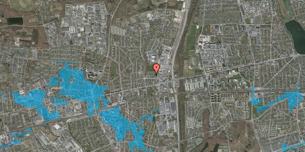 Oversvømmelsesrisiko fra vandløb på Dalvangsvej 32, st. tv, 2600 Glostrup