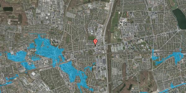Oversvømmelsesrisiko fra vandløb på Dalvangsvej 33, st. tv, 2600 Glostrup