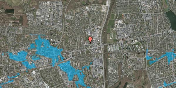 Oversvømmelsesrisiko fra vandløb på Dalvangsvej 34, st. th, 2600 Glostrup