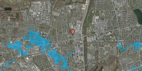Oversvømmelsesrisiko fra vandløb på Dalvangsvej 34, 2. tv, 2600 Glostrup
