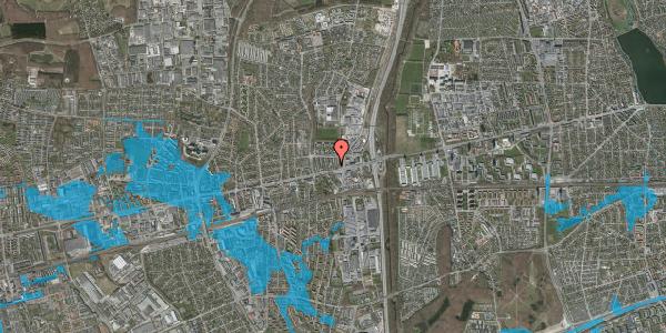 Oversvømmelsesrisiko fra vandløb på Dalvangsvej 35, 2. tv, 2600 Glostrup