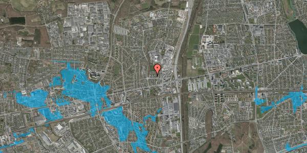 Oversvømmelsesrisiko fra vandløb på Dalvangsvej 38, 2. th, 2600 Glostrup