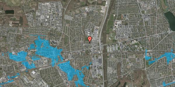 Oversvømmelsesrisiko fra vandløb på Dalvangsvej 40, 1. th, 2600 Glostrup