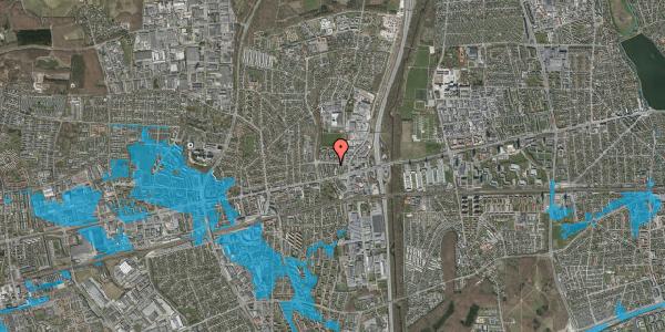 Oversvømmelsesrisiko fra vandløb på Dalvangsvej 41, st. tv, 2600 Glostrup
