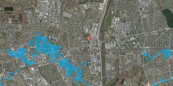 Oversvømmelsesrisiko fra vandløb på Dalvangsvej 43, 2. th, 2600 Glostrup