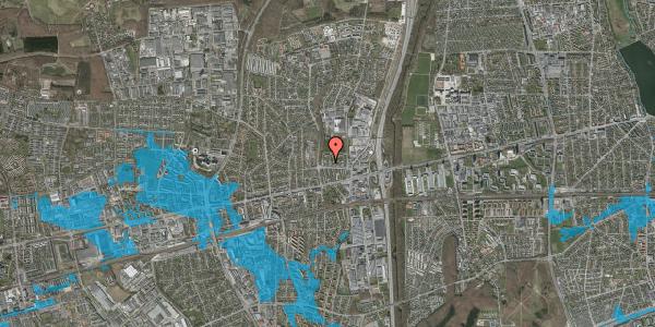Oversvømmelsesrisiko fra vandløb på Dalvangsvej 46, st. 1, 2600 Glostrup