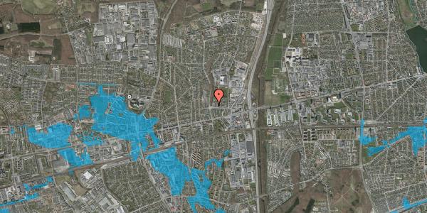 Oversvømmelsesrisiko fra vandløb på Dalvangsvej 50B, 1. tv, 2600 Glostrup