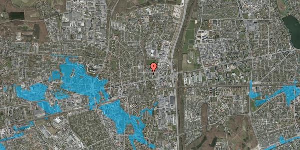 Oversvømmelsesrisiko fra vandløb på Dalvangsvej 51, st. mf, 2600 Glostrup