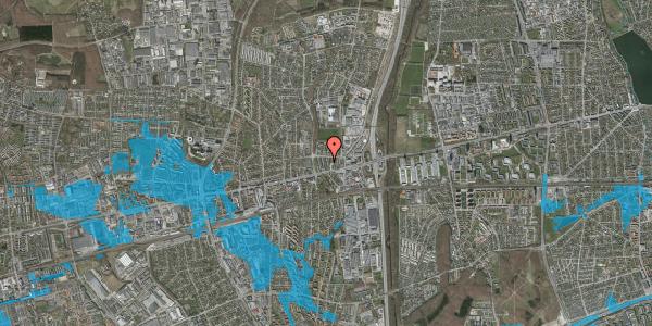 Oversvømmelsesrisiko fra vandløb på Dalvangsvej 53, 1. mf, 2600 Glostrup