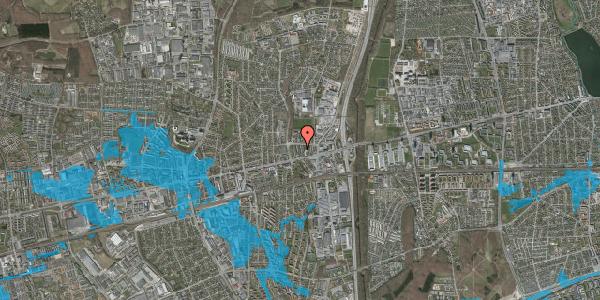 Oversvømmelsesrisiko fra vandløb på Dalvangsvej 53, 1. th, 2600 Glostrup