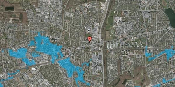 Oversvømmelsesrisiko fra vandløb på Dalvangsvej 55, 1. tv, 2600 Glostrup