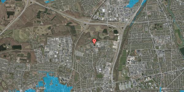 Oversvømmelsesrisiko fra vandløb på Egeskoven 104, 2600 Glostrup