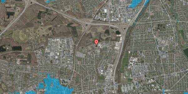 Oversvømmelsesrisiko fra vandløb på Egeskoven 106, 2600 Glostrup
