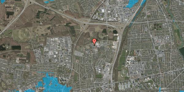 Oversvømmelsesrisiko fra vandløb på Egeskoven 108, 2600 Glostrup