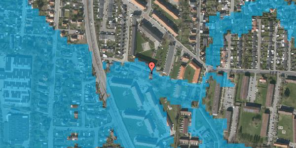 Oversvømmelsesrisiko fra vandløb på Gyvelvej 13M, 2600 Glostrup