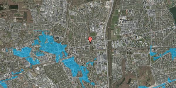 Oversvømmelsesrisiko fra vandløb på Lilliendalsvej 7, st. 4, 2600 Glostrup