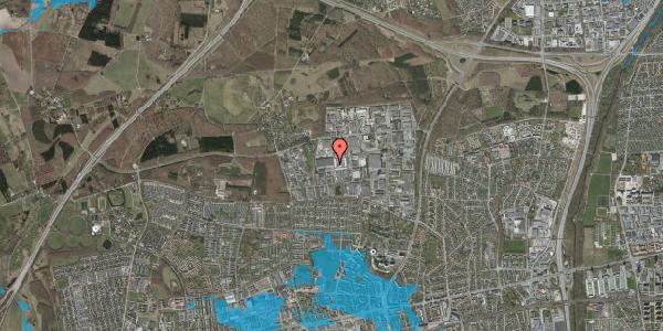 Oversvømmelsesrisiko fra vandløb på Naverland 22B, 2600 Glostrup