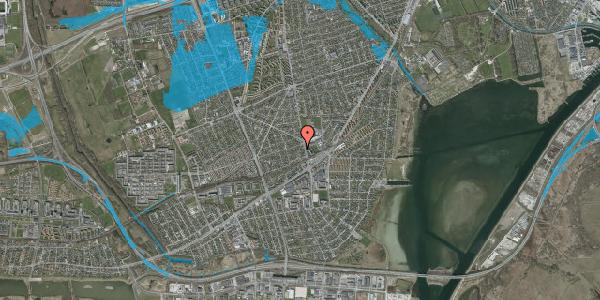 Oversvømmelsesrisiko fra vandløb på Achilles Alle 16, 2650 Hvidovre