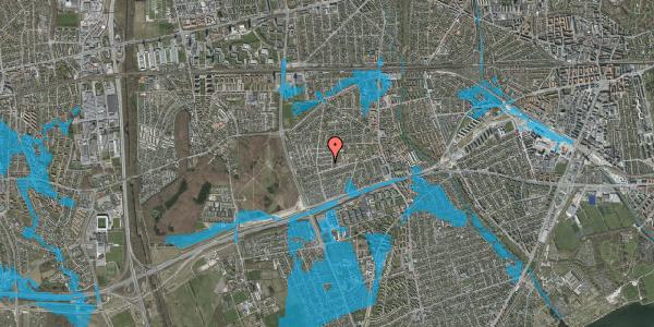 Oversvømmelsesrisiko fra vandløb på Agermosen 8, 2650 Hvidovre