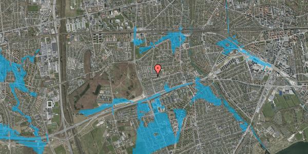 Oversvømmelsesrisiko fra vandløb på Agermosen 13, 2650 Hvidovre