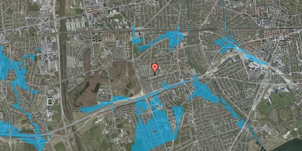 Oversvømmelsesrisiko fra vandløb på Agermosen 17, 2650 Hvidovre