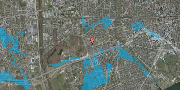 Oversvømmelsesrisiko fra vandløb på Agermosen 31, 2650 Hvidovre