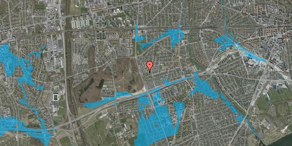 Oversvømmelsesrisiko fra vandløb på Agermosen 39, 2650 Hvidovre
