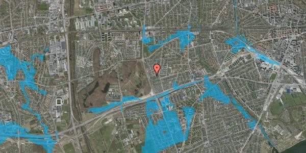 Oversvømmelsesrisiko fra vandløb på Agermosen 41, 2650 Hvidovre