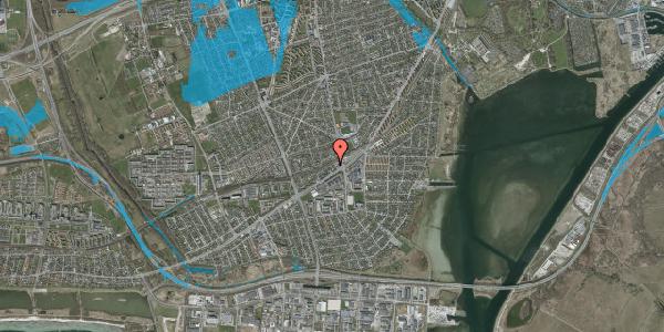 Oversvømmelsesrisiko fra vandløb på Ajax Alle 5, 2650 Hvidovre