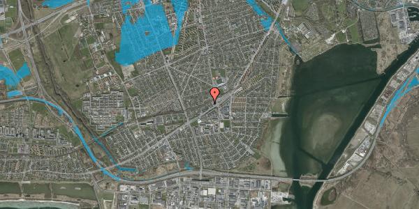 Oversvømmelsesrisiko fra vandløb på Ajax Alle 7, 2650 Hvidovre