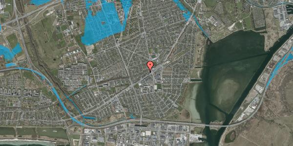 Oversvømmelsesrisiko fra vandløb på Ajax Alle 9, 2650 Hvidovre