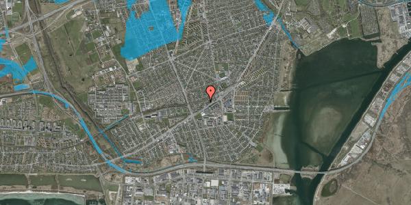 Oversvømmelsesrisiko fra vandløb på Ajax Alle 23, 2650 Hvidovre