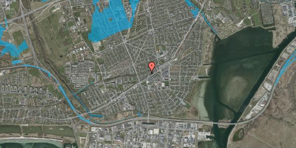Oversvømmelsesrisiko fra vandløb på Ajax Alle 25, 2650 Hvidovre