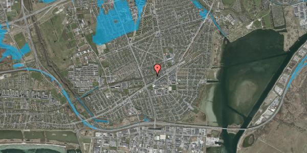 Oversvømmelsesrisiko fra vandløb på Ajax Alle 26, 2650 Hvidovre