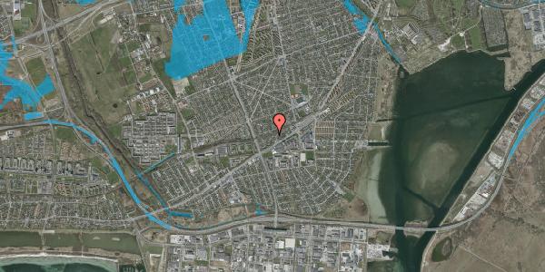 Oversvømmelsesrisiko fra vandløb på Ajax Alle 28, 2650 Hvidovre