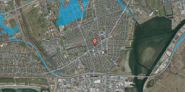 Oversvømmelsesrisiko fra vandløb på Ajax Alle 31, 2650 Hvidovre