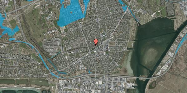 Oversvømmelsesrisiko fra vandløb på Ajax Alle 32, 2650 Hvidovre