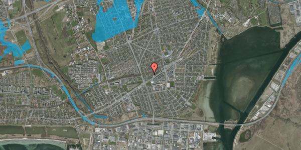 Oversvømmelsesrisiko fra vandløb på Ajax Alle 33, 2650 Hvidovre