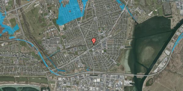 Oversvømmelsesrisiko fra vandløb på Ajax Alle 35, 2650 Hvidovre