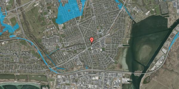 Oversvømmelsesrisiko fra vandløb på Ajax Alle 39, 2650 Hvidovre