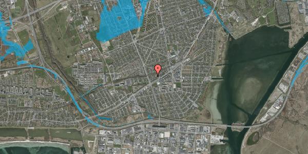 Oversvømmelsesrisiko fra vandløb på Ajax Alle 41, 2650 Hvidovre