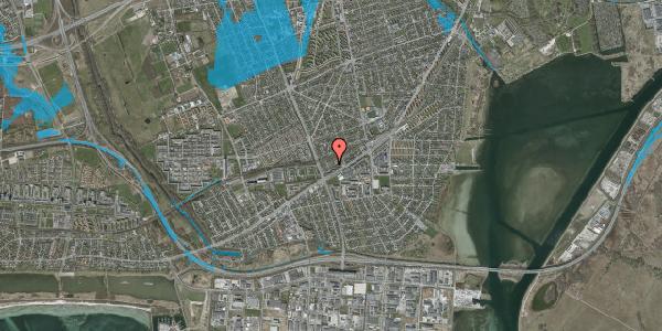 Oversvømmelsesrisiko fra vandløb på Ajax Alle 43, 2650 Hvidovre