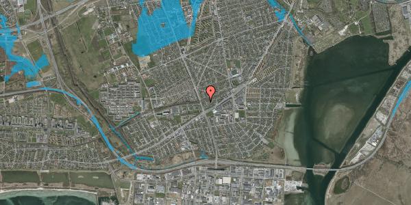 Oversvømmelsesrisiko fra vandløb på Ajax Alle 50, 2650 Hvidovre