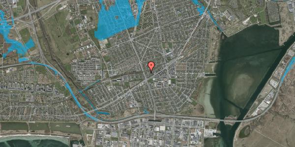 Oversvømmelsesrisiko fra vandløb på Ajax Alle 52, 2650 Hvidovre