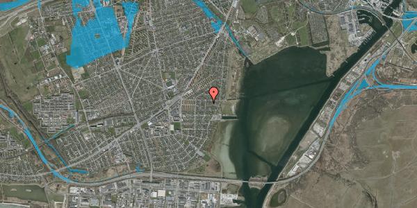 Oversvømmelsesrisiko fra vandløb på Ankermandsvej 5, 2650 Hvidovre